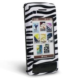 White/ Black Zebra Case for LG enV Touch VX11000