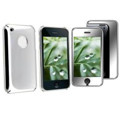 2-piece Case/ Mirror Screen Protector for Apple iPhone 3G/ 3GS