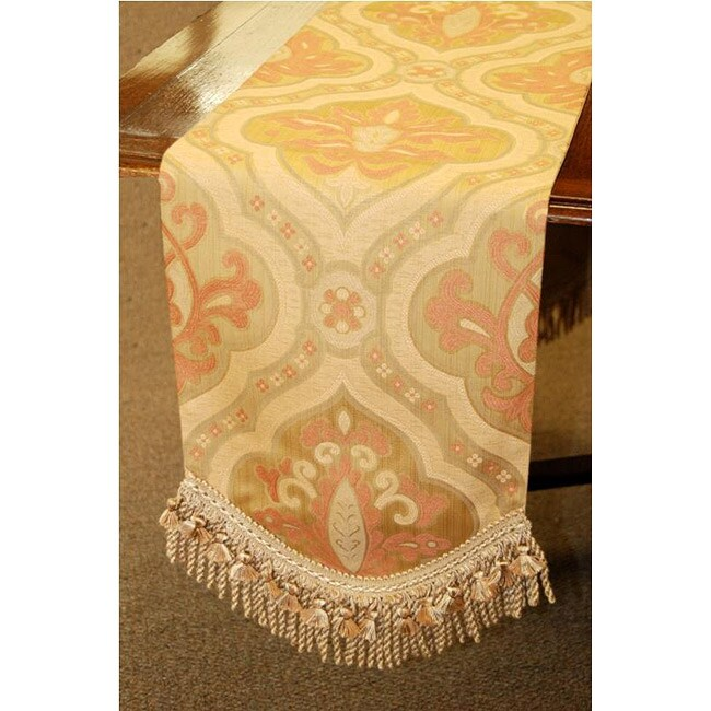 Woven decor Decor 80 Table table inch Italian Corona Runner runners  Tapestry