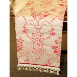 Corona Decor Italian Floral 70-inch Table Runner