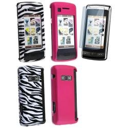 3-piece Case/ Screen Protector for LG enV Touch VX11000