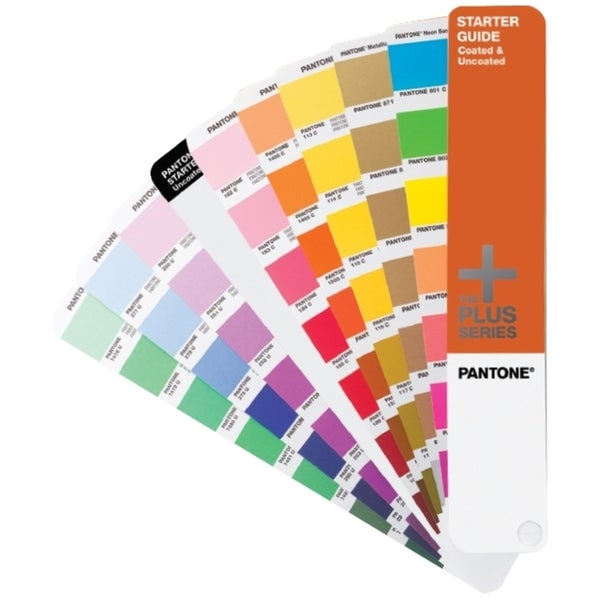 Pantone STARTER GUIDE Solid Coated & Uncoated Reference Printed Manua