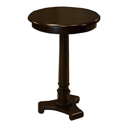 Column Espresso Side Table