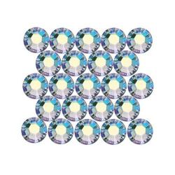 Beadaholique Light Colorado Topaz AB ss20 Crystal Flatback Rhinestones (Pack of 50)
