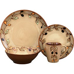 Sango Vineyard 16-piece Dinnerware Set