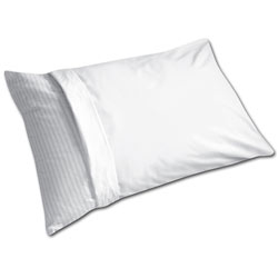 Fresh Ideas Easy-care White Plain-weave Pillow Protectors (Set of 6)
