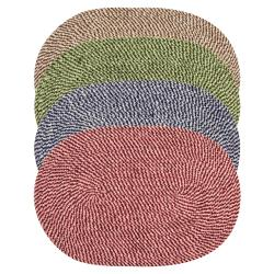 Legacy Chenille Tweed Braided Rug (8' x 10')