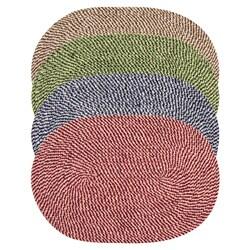 Legacy Chenille Tweed Braided Rug (2'6 x 4'2)