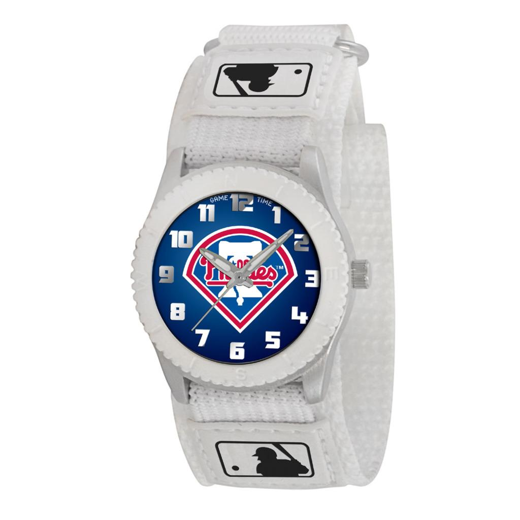 Game Time Philadelphia Phillies White Rookie Series Watch