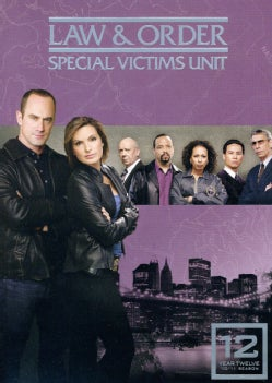 Law & Order: Special Victims Unit Season 12 (DVD)