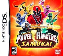 Nintendo DS - Power Rangers Samurai - By Namco Bandai