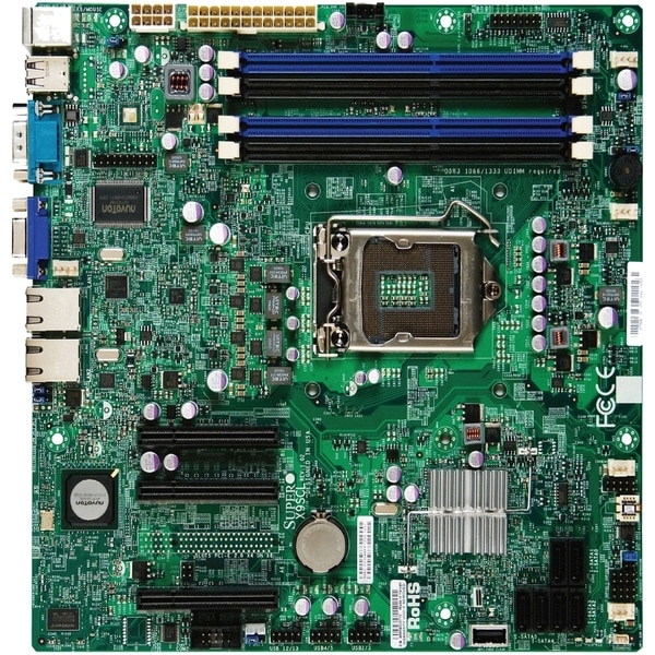 Supermicro X9SCL-F Server Motherboard - Intel C202 Chipset - Socket H