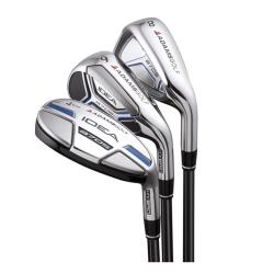 Adams Men's Idea A7 OS-R Graphite Shaft Hybrid/ Iron Combo Set