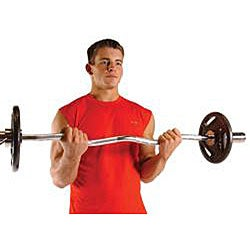 CAP Barbell Olympic EZ Curl Bar