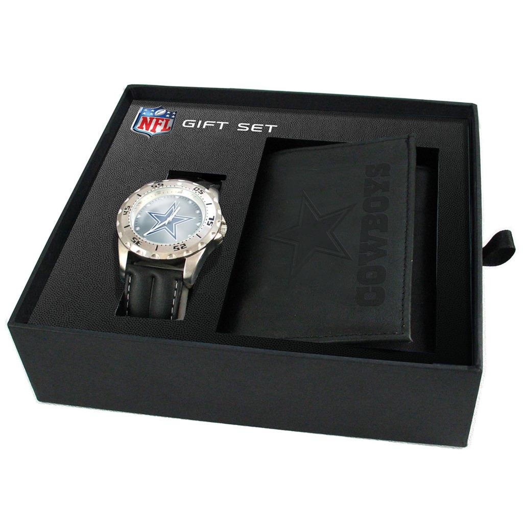 Dallas Cowboys Watch and Wallet Gift Set