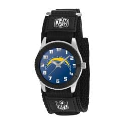 Game Time NFL San Diego Chargers Black Rookie Series Watch