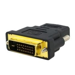 Gold-plated HDMI-F to DVI-M Adapter