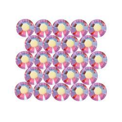 Beadaholique Austrian Crystal Light Siam AB ss16 Rhinestones (Pack of 50)