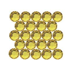 Beadaholique Light Topaz ss16 Crystal Flatback Rhinestones (Pack of 50)