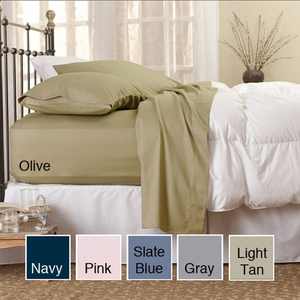 Sealy Cotton Flannel 4-piece Sheet Set