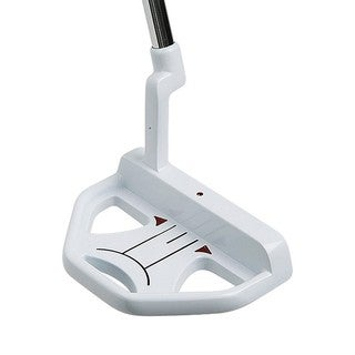 Nextt Golf Axis 2 Nano High-MOI White Putter with Dual V Steel Shaft