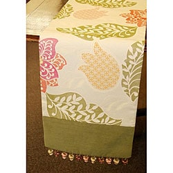 Corona Decor Botanical Woven 70-inch Table Runner