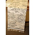Corona Decor Italian Toile 70-inch Table Runner