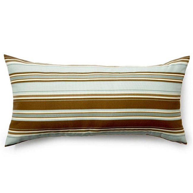 Spa Thick Stripes Outdoor Pillow