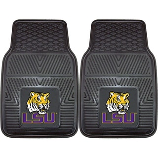 Fanmats Louisiana State 2-piece Vinyl Car Mats