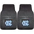 Fanmats UNC North Carolina 2-piece Vinyl Car Mats