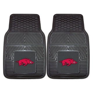 Fanmats Arkansas 2-piece Vinyl Car Mats
