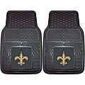 Fanmats New Orleans Saints 2-piece Vinyl Car Mats