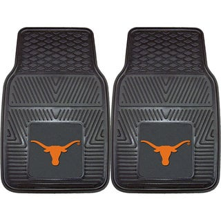 Fanmats Texas 2-piece Vinyl Car Mats