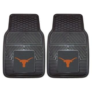 Fanmats Texas 2-piece Vinyl Car Mats