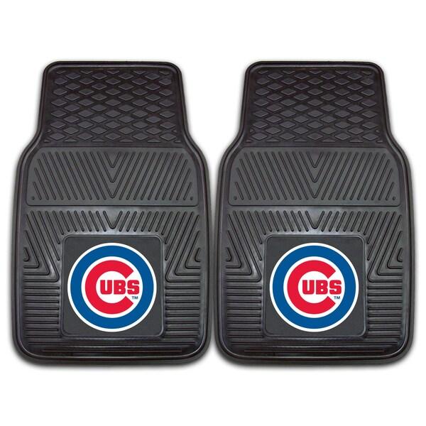 Fanmats Chicago Cubs 2-piece Vinyl Car Mats