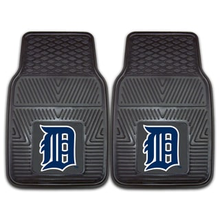 Fanmats Detroit Tigers 2-piece Vinyl Car Mats
