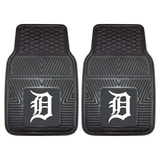 Fanmats Detroit Tigers 2-piece Vinyl Car Mats