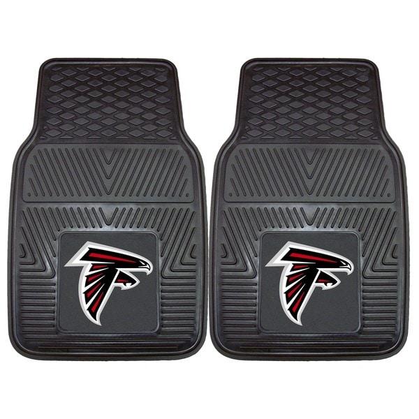 Fanmats Atlanta Falcons 2-piece Vinyl Car Mats