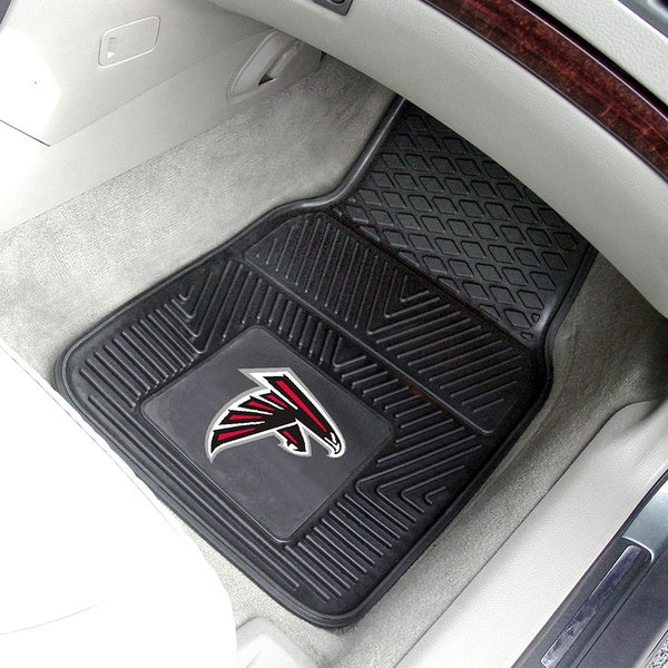 Fanmats Atlanta Falcons 2-piece Vinyl Car Mats