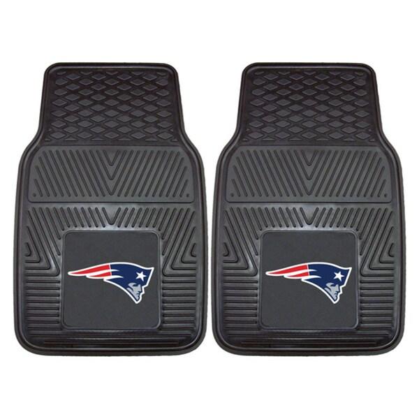 Fanmats New England Patriots 2-piece Vinyl Car Mats