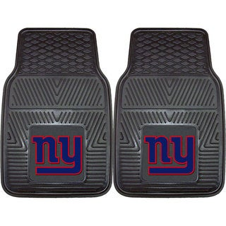 Fanmats New York Giants 2-piece Vinyl Car Mats