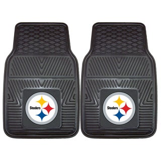 Fanmats Pittsburgh Steelers 2-piece Vinyl Car Mats