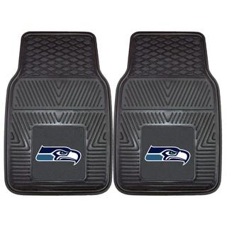 Fanmats Seattle Seahawks 2-piece Vinyl Car Mats