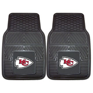 Fanmats Kansas City Chiefs 2-piece Vinyl Car Mats