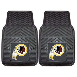 Fanmats Washington Redskins 2-piece Vinyl Car Mats