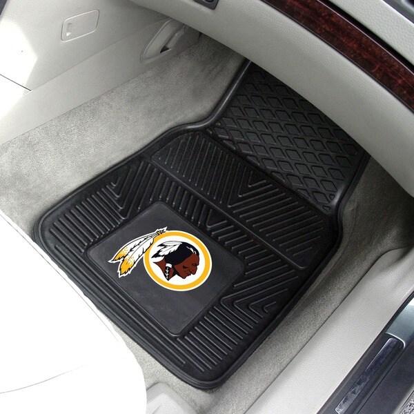Fanmats Washington Redskins 2-piece Vinyl Car Mats
