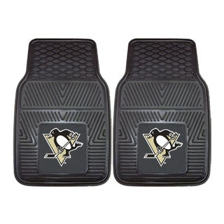 Fanmats Pittsburgh Penguins 2-piece Vinyl Car Mats