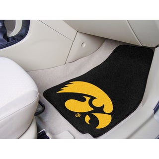 Fanmats Iowa 2-piece Carpeted Nylon Car Mats