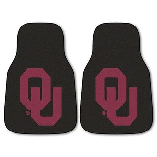 Fanmats Oklahoma 2-piece Carpeted Nylon Car Mats