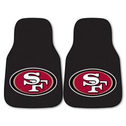 Fanmats San Francisco 49ers 2-piece Carpeted Car Mats